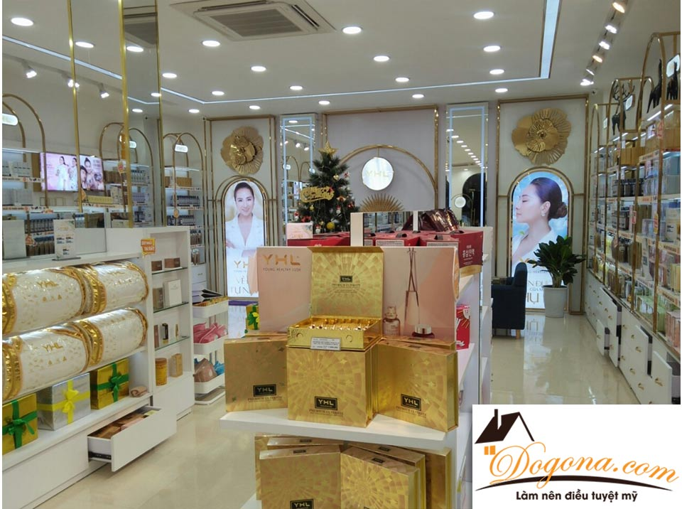 Công trình shop mỹ phẩm YHL Nghệ An