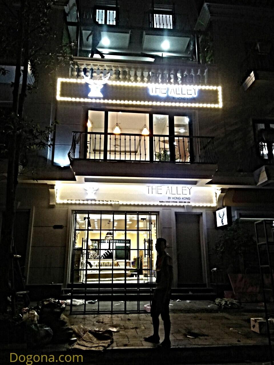 Chi nhánh The Alley Hạ Long về đêm