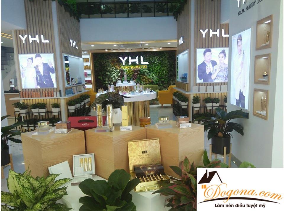 Công trình shop mỹ phẩm YHL Hà Nội