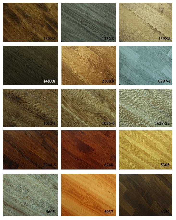 Bảng màu gỗ HDF