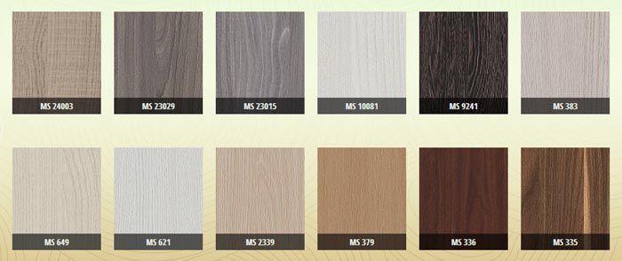 Bảng màu gỗ MDF