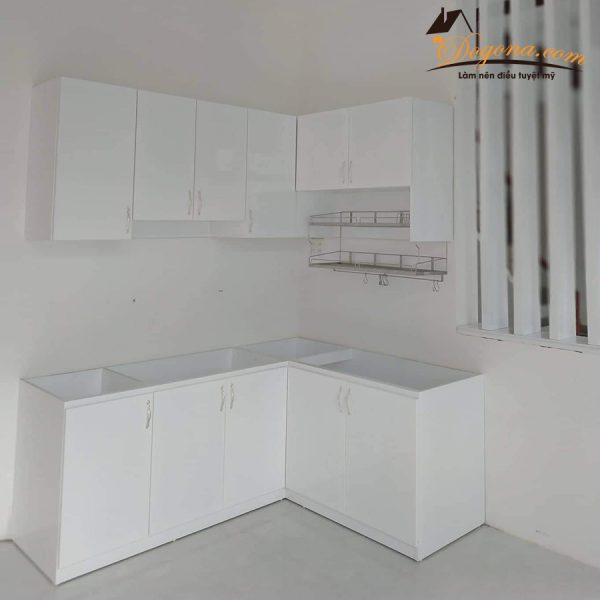 đóng tủ bếp gia đình theo cầu yều