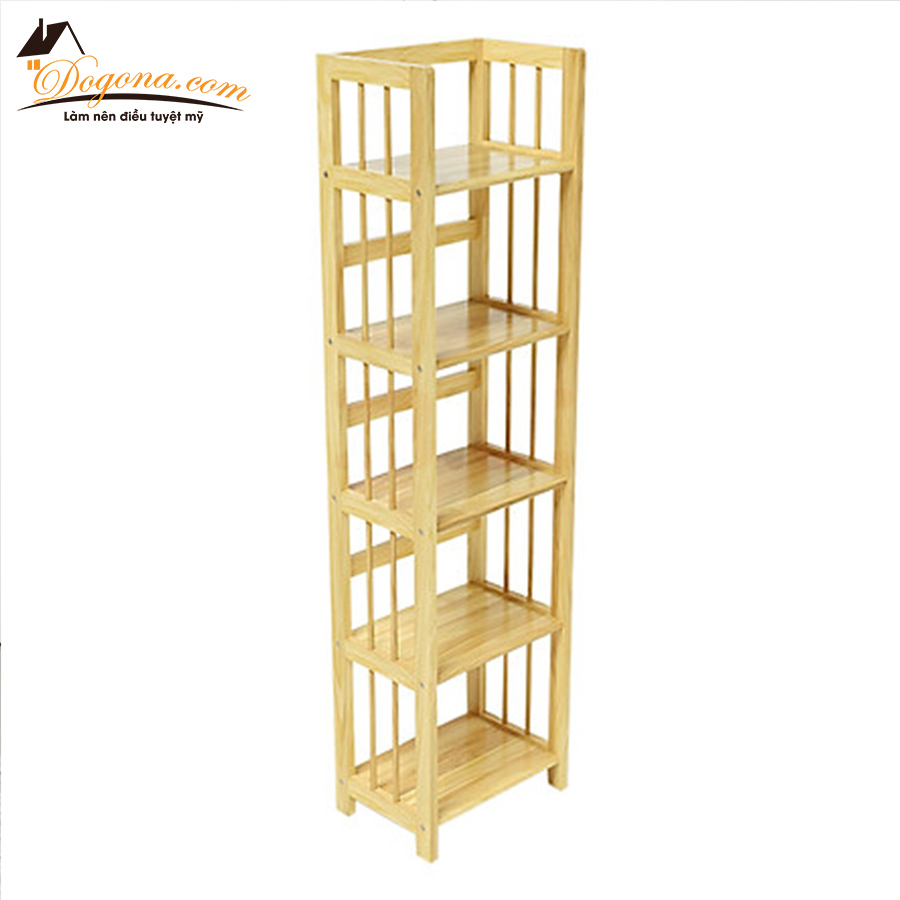kệ để đồ 5 tầng gỗ thông